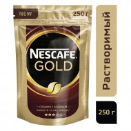 Кофе растворимый «Nescafe» Gold, 250 г.