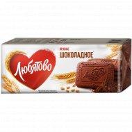 Печенье «Любятово» шоколадное сахарное, 335 г.