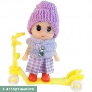 Кукла с самокатом «Zhorya» B1223199