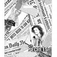 Мешок с ручками «Газетный микс» 45х38 см.