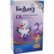 Смесь сухая «Беллакт ГА 2+» гипоаллергенная, 350 г.