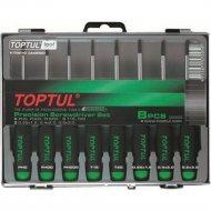 Набор прецизионных отверток Torx «Toptul» GAAW0801, T5-T20.