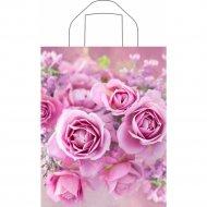 Мешок с ручками «Нежные розы» 35х28см.