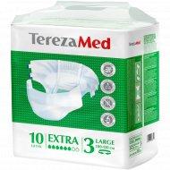 Подгузники медицинские «TerezaMed» Large Extra 3, 10 шт.
