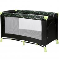 Манеж «Lorelli» Verona 1 Dots Black Green.