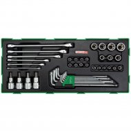 Набор торцевых головок и ключей «Toptul» GTB4006, 40 предметов.