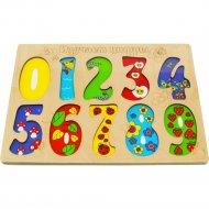 Пазл «Цифры» 11 элементов.