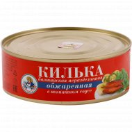 Консервы рыбные «Килька балтийская» в томатном соусе, 240 г.
