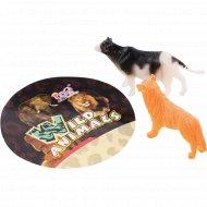 Набор животных «Animal World» 2 штуки с карточкой