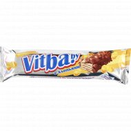 Вафельный батончик «Vitba.by» с хлопьями в молочной глазури 38 г.