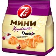 Мини круассаны «7 Days» с двойной начинкой «ваниль-вишня» 200 г.