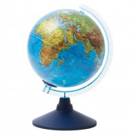 Глобус физико-политический 21см, с подсветкой.