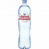 Вода питьевая «Святой Источник» негазированная 1.5 л.