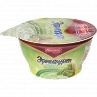 Пудинг молочный «Эрмигурт» фисташковое пралине, 140 г.
