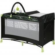 Манеж «Lorelli» Verona 2 Plus Dots Green Black.