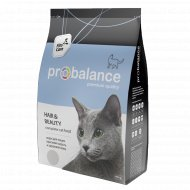 Корм для кошек «ProBalance» Красивая шерсть и здоровая кожа, 400 г.