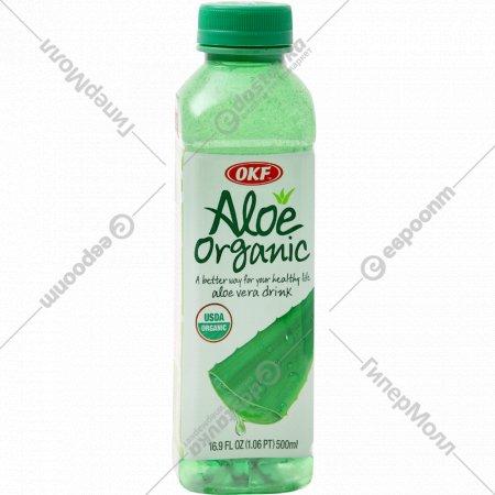Напиток «Алоэ Вера Органик» с ароматом винограда, 500 мл.