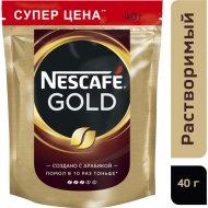 Кофе растворимый «Nescafe» Gold, 40 г.