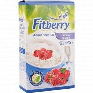 Каша овсяная «Fitberry» лесные ягоды, 6 х 35 г