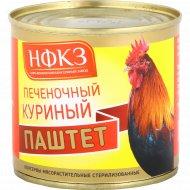 Консервы мясорастительные «Паштет» печеночный куриный, 240 г.