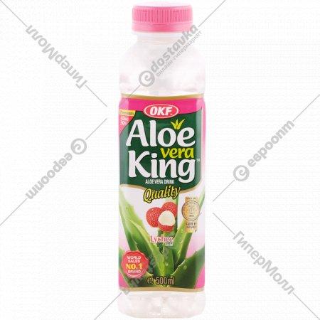 Напиток безалкогольный «Алоэ Вера» с ароматом личи, 500 мл.
