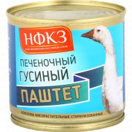 Консервы мясорастительные «Паштет» печеночный гусиный, 240 г.