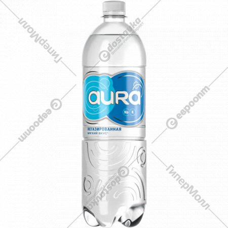 Вода питьевая «Aura» негазированная, 1 л.