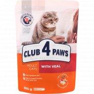 Корм сухой «Club 4 Paws» Premium со вкусом телятины, 300 г