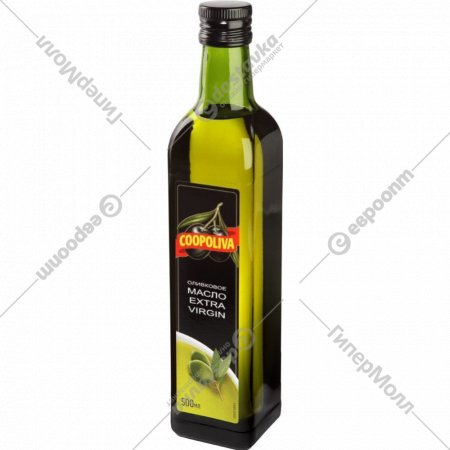Масло оливковое «Coopoliva» Extra Virgin нерафинированное, 500 мл.