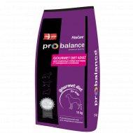 Корм для взрослых собак «ProBalance» говядина и ягненок, 15 кг.