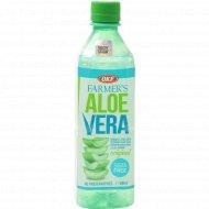 Напиток «Aloe Vera» с ароматом винограда, без сахара, 500 мл.