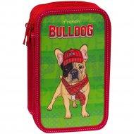 Пенал «Bulldog» 2 отделения.
