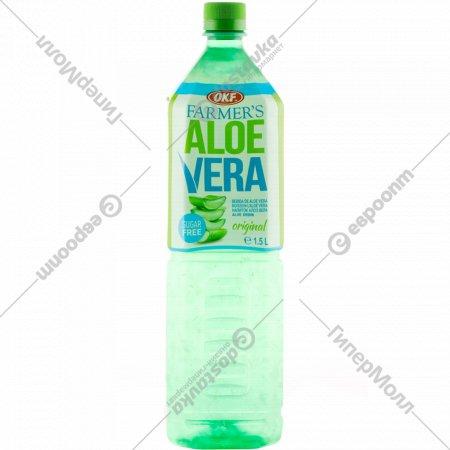 Напиток безалкогольный «Алоэ Вера» оригинальный, 1.5 л.