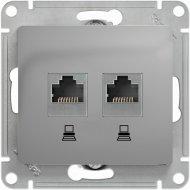 Розетка компьютерная «Schneider Electric» Glossa, GSL000385KK