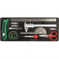 Набор измерительного инструмента «Toptul» GCAT1101, 11 предметов.