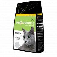Корм для кошек «ProBalance» Sensitive курица-рис, 1.8 кг.