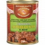 Консервы мясные «Свинина Деревенская» в желе, 340 г.