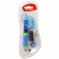 Ручка перьевая «Arrow » 3 сменных катриджа, блистер синий.