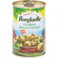 Оливки «Bonduelle» без косточки, 300 г.