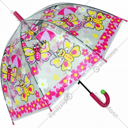 Зонтик-трость «Бабочка» детский.