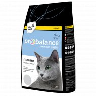 Корм для котов «ProBalance» Sterilized, курица-рис, 1,8 кг