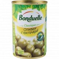 Оливки «Bonduelle» с косточкой, 300 г.