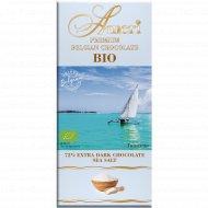 Шоколад горький «Ameri» с морской солью, 100 г.