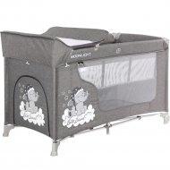 Манеж кровать «Lorelli» Moonlight 2 Luxe Grey.