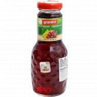 Сок из красного винограда «Granini» осветленный, 250 мл.