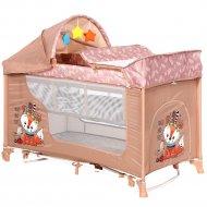 Манеж кровать «Lorelli» Moonlight 2 Foxy Beige.