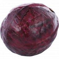 Капуста краснокочанная свежая, 1 кг., фасовка 1.5-2 кг