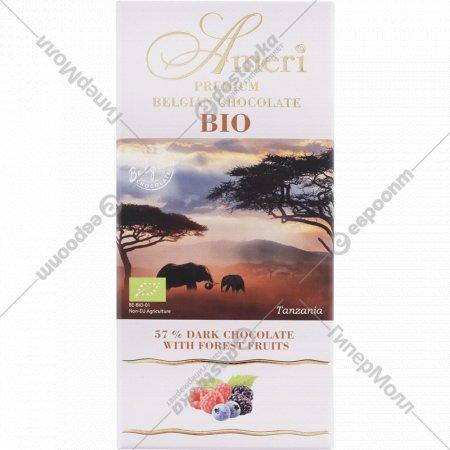 Шоколад горький «Ameri» с лесными ягодами, 100 г.