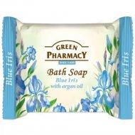 Туалетное мыло «Green Pharmacy» голубой ирис, 100 г.