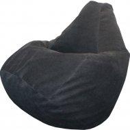 Кресло-мешок «Flagman» Груша Мега, Г3.5-02, Black